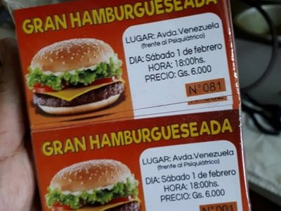 Vende hamburguesas para comprar pañales