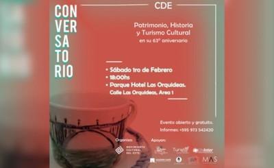 Invitan a un conversatorio por el 63° Aniversario de CDE