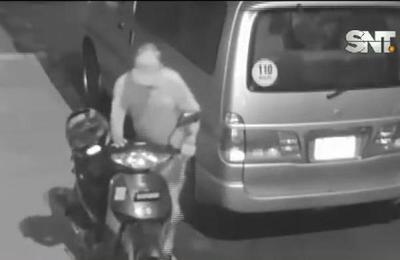 Barrio Obrero : Robó una moto, pero luego la devolvió
