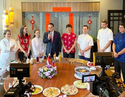 Embajada de Taiwán hizo demostración de platos típicos para inicio de Año Nuevo Lunar