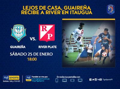 Previa del partido Guareña vs. River Plate