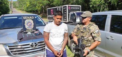 Detienen a sospechoso de traficar droga en San Bernardino