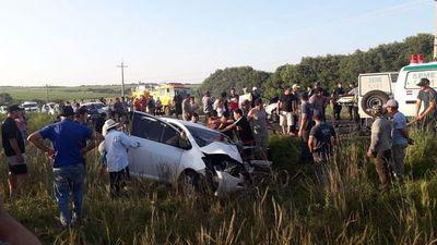Fallece la tercera víctima del cuádruple accidente en San Patricio