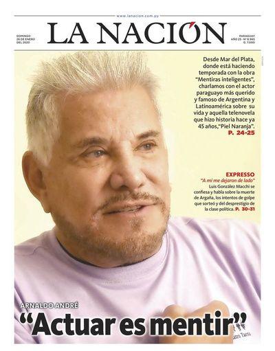 Edición impresa, 26 de enero de 2020