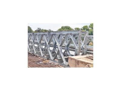 Nuevo puente metálico podrá conectar mejor a chaqueños