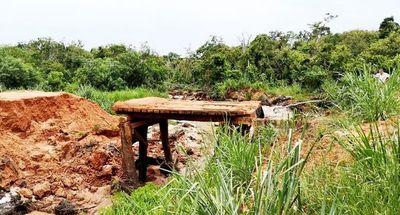 Productores de Ypejhu reclaman la reparación de  puentes de madera