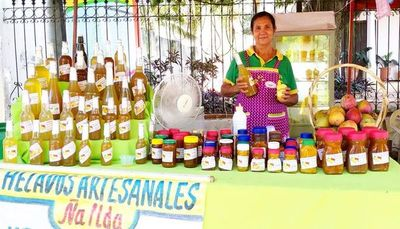 Elaboran dulce de mango  sin azúcar y sin edulcorante
