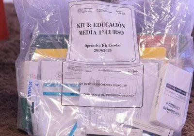 MEC ya entregó en 100% de los kits escolares en San Pedro