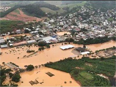 Brasil: Emergencia en 47 ciudades por lluvias que dejaron 38 muertos