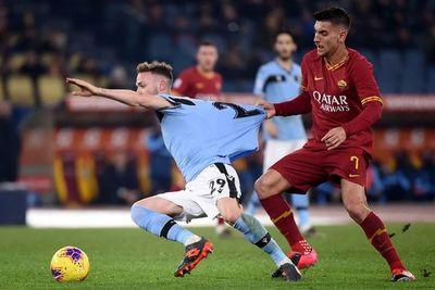 Roma corta la racha de Lazio