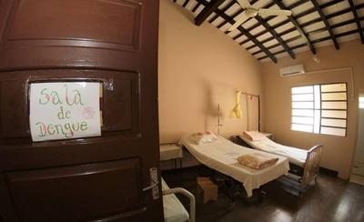 HOY / Enfermos de dengue ya ocuparon 600 camas, 20 de ellos en terapia intensiva