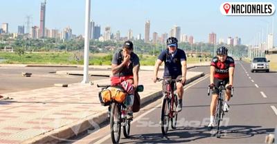 Paraguayo recorrerá 25.000 kilómetros en bicicleta para promocionar el país