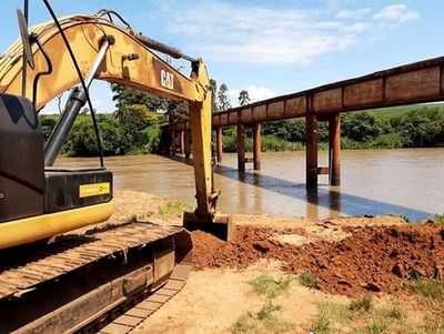 Inician construcción de puente sobre Monday