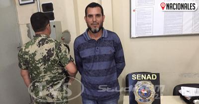 Fue a visitar a su esposa al Buen Pastor y quedó detenido por intentar introducir drogas