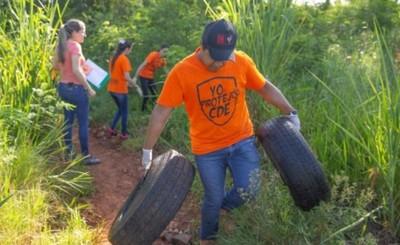 Juntan 70 toneladas de basura durante Minga Ambiental en CDE