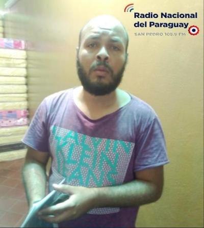 Brasileño detenido tras intentar ingresar al penal de San Pedro