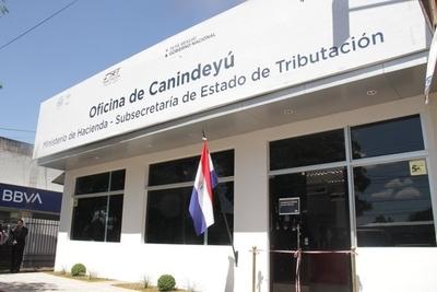 Tributación inauguró nueva oficina en Salto del Guairá