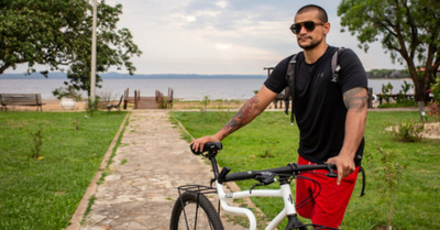 Una vuelta por  Sudamérica  en bicicleta