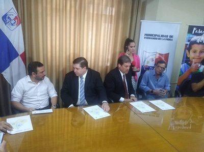 ESSAP presenta consorcios que construirán alcantarillado en Fernando