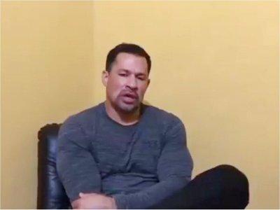 Ulises Quintana pide permiso para asistir al sepelio de su padre