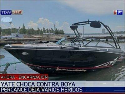 Embarcación sufre percance en el río Paraná y deja tres heridos