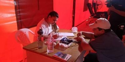 HOY / Ante demanda de febriles con sospecha de dengue, Hospital de Calle'í habilitó carpa climatizada