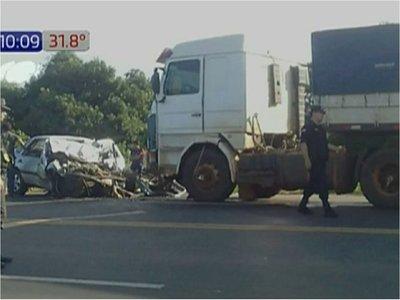 Accidente de tránsito deja un fallecido en Yaguarón