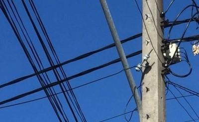 Intentó arreglar conexión de ANDE y terminó electrocutado