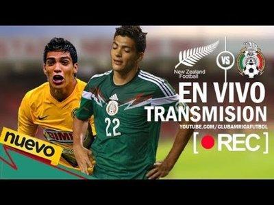 Nueva Zelanda vs Mexico 2013 Repechaje En Vivo Online
