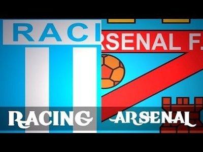 Racing Club vs Arsenal en vivo 2014 (previa, hora, alineaciones)