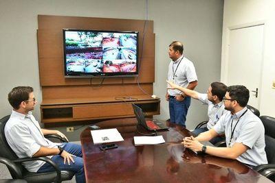 Instalan sistema de videovigilancia en obras del multiviaducto