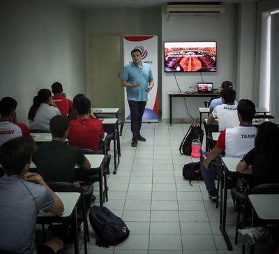 Atletas paraguayos presentes en el Athlete 365 Career+ en el COP