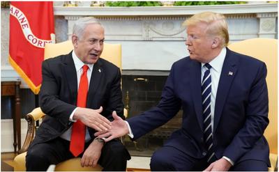 Trump adelantó que a los palestinos «no les gustará al principio» su plan de paz con Israel