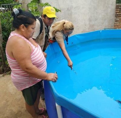 Salud Pública encabeza mingas contra el dengue en varios puntos de Asunción y Central