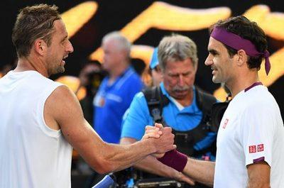 Federer ganó, pero alguien más levantó suspiros