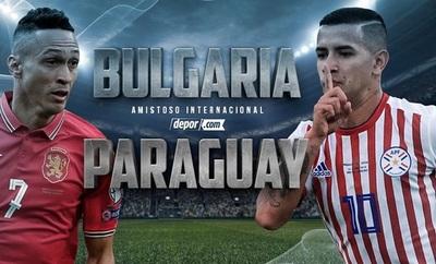 Bulagria vs Paraguay En Vivo Online Amistoso [Hora, Previa Alineaciones]