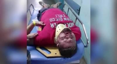 |VIDEO| Patota de motociclistas en carrera clandestina robó las pertenencias y casi mata a golpes a un automovilista