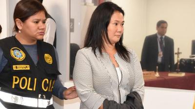 Perú: juez decide si vuelve a encarcelar a Keiko Fujimori