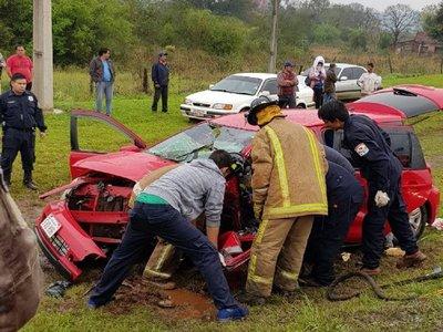 Bomberos piden vehículos chatarras para prácticas de rescate