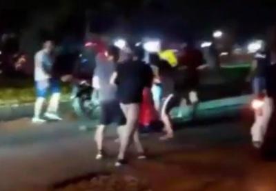 Identifican a uno de los supuestos motociclistas que agredió a un hombre
