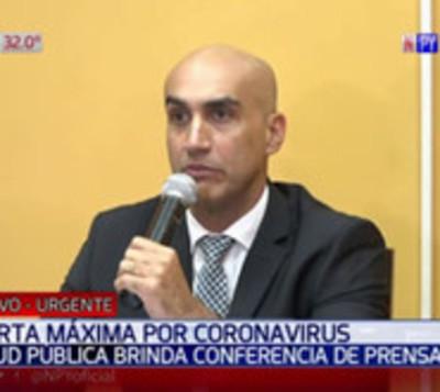 Anuncian primer caso sospechoso de coronavirus en Paraguay