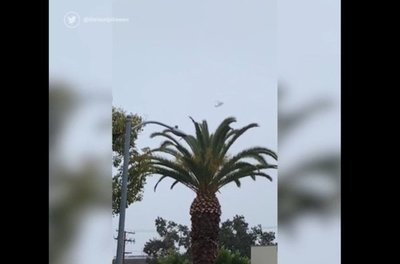 Imágenes del helicóptero de Kobe Bryant minutos antes de la tragedia