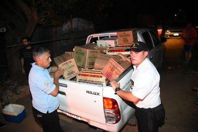 Decomisan tomates y otros productos en la zona Itá Enramada
