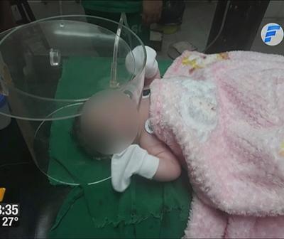 Milagros, la beba que necesita con urgencia terapia