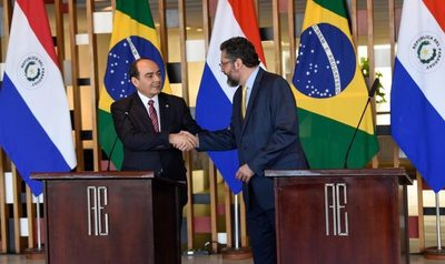 Canciller brasileño visitará nuestro país este lunes