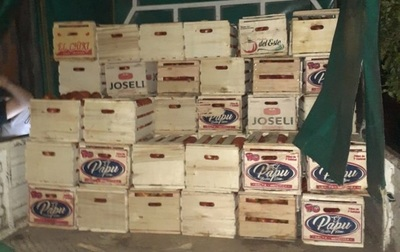 Incautan productos de contrabando en Itá Enramada