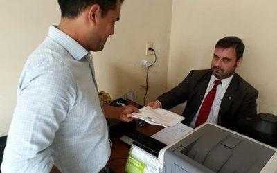Intendente de Franco denuncia a ciudadano puerco ante la Fiscalía