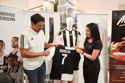 En Ciudad del Este habrá escuela de fútbol de la Juventus de Italia