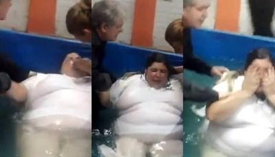 Mirá las imágenes del bautismo de Pamelita Ovelar