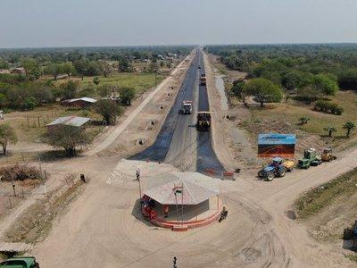 Chaco: Avanza la construcción de la ruta que está transformando al Chaco paraguayo
